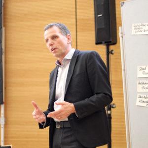 Jörg Ortjohann, Mitinitiator von CO2COMPASS und Vorstand der Stiftung Energieeffizienz